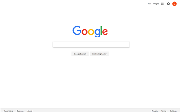google home screen